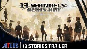 13 Sentinels Aegis Rim - 13 Stories Trailer PlayStation 4