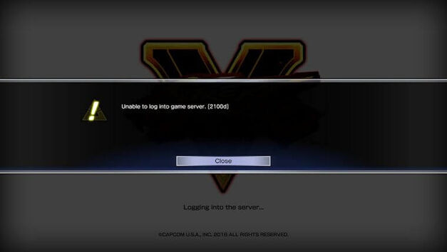Street-Fighter-5-Login-Error