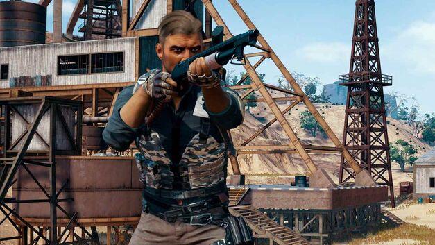 PlayerUnknown's Battlegrounds shotgun