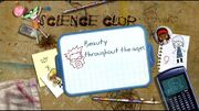 Science Club 1 - Beauty throughout the ages