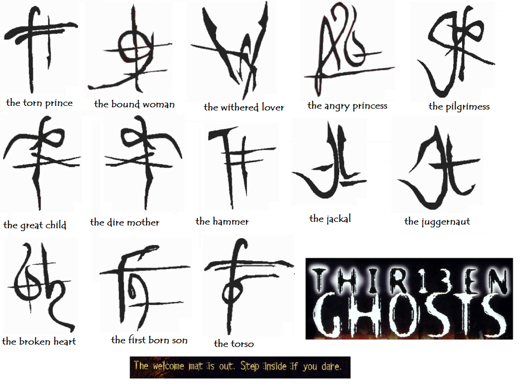 Black Zodiac 13 Ghosts Wiki Fandom Powered By Wikia