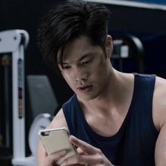Zach reading Alex's text