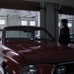Clay and Ani with Tony's car