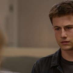 Clay talking with Jessica about Justin's diagnosis