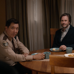 Sheriff Diaz meeting up with the Jensens