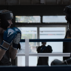 Alex and Tyler boxing