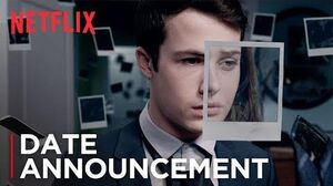 13 Reasons Why Season 2 Date Announcement HD Netflix