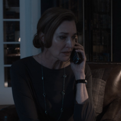 Mrs. Walker getting a call