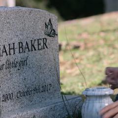 Hannah's gravestone