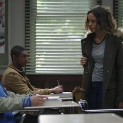 Jessica confronting Zach