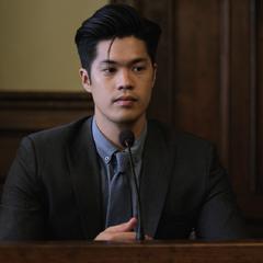 Zach testifying
