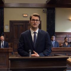 Bryce at his sentencing