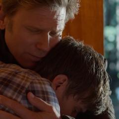 Bill comforting Alex