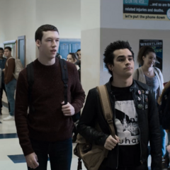 The punks walking the halls with Tyler