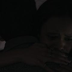 Jessica and Justin hugging