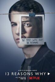 Season 2 Character Portrait Clay Jensen