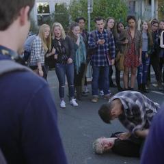 Monty beating Alex