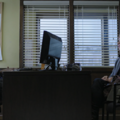 Mr. Porter and Ryan in the counsellor's office