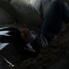 Clay getting thrown into a hole