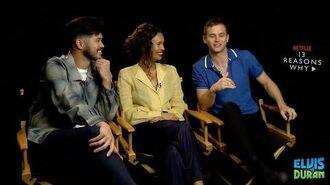 Brandon Flynn, Ross Butler & Alisha Boe Talk Character Growth In Final Season Of '13 Reasons Why'-1