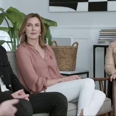 Justin Prentice, Brenda Strong and Joy Gorman-Wettels