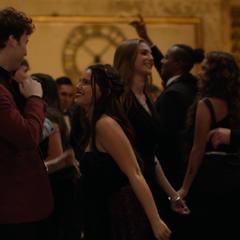 Tyler and Estela dancing