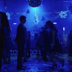 Clay, and Hannah meeting at the dance floor