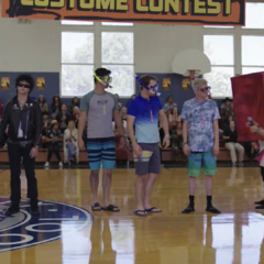 The Halloween contest