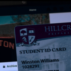 Winston's Facebook and fake ID