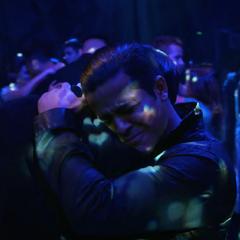 Tony comforting Clay