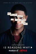 13 Reasons Why Character Poster Marcus Cole