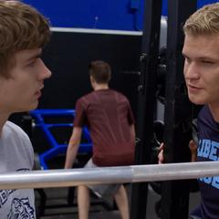 Luke telling Alex about steroids