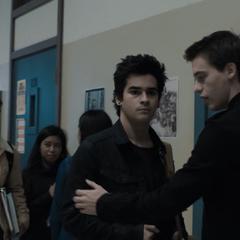Cyrus and Eric looking at Ani