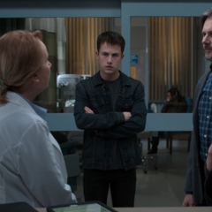 The doctor telling the Jensen family that they're going to take Justin off the ventilator