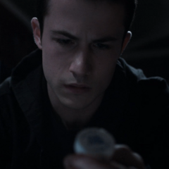 Clay finding oxy in Justin's stuff