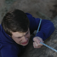 Clay rock climbing