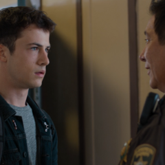 Clay and Sheriff Diaz talking