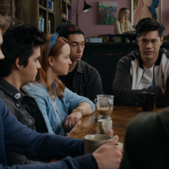 Justin, Cyrus, Mackenzie and Zach