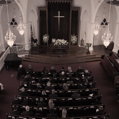 Bryce Walker's funeral
