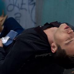 Justin smoking heroin