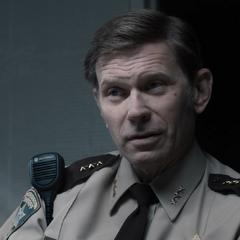 Deputy Standall interrogating Tony