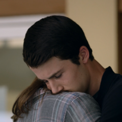 Skye and Clay saying goodbye
