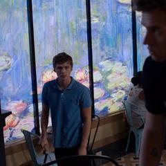 Alex seeing Justin help Jessica