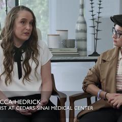 Dr. Rebecca Hedrick and Bex Taylor-Klaus