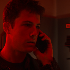 Clay receiving another mysterious phone call