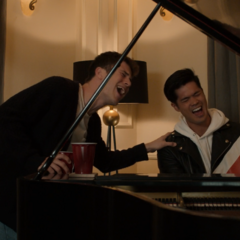 """Clay and Zach singing """"Tiny Dancer"""""""