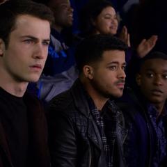 Clay, Tony and Caleb at the game