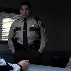 Zach, Sheriff Diaz and Deputy Standall