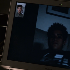 Tyler and Cyrus facetiming