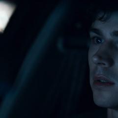 Alex in his Dad's car